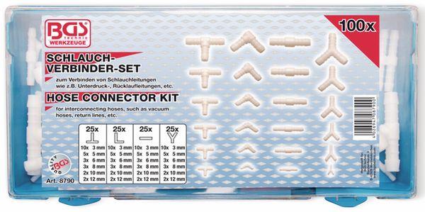 Schlauch-Verbinder-Sortiment 100tlg. - Produktbild 1