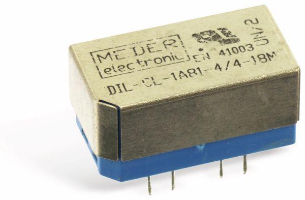 Reedrelais MEDER DIL-CL-1A81-4/4-18M - Produktbild 1