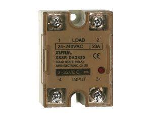 Solid-State Relais XSSR-DA2420, 3...32 V-, 20 A/240 V~ - Produktbild 1