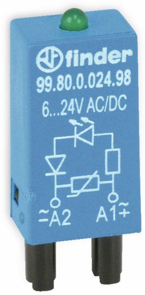 Varistor-/LED-Modul FINDER FM24LD