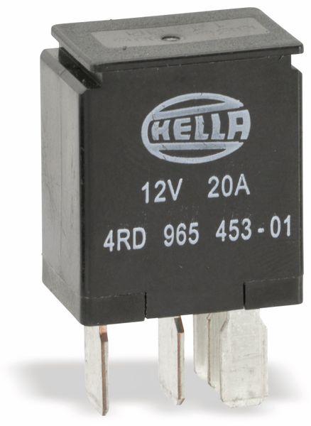 KFZ-Relais HELLA 4RD965453-01, 12 V-, 20 A