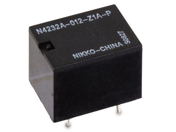 Printrelais NIKKO N4232A-012-Z1A-P (HG4232A) 12 V-, 1 Wechsler