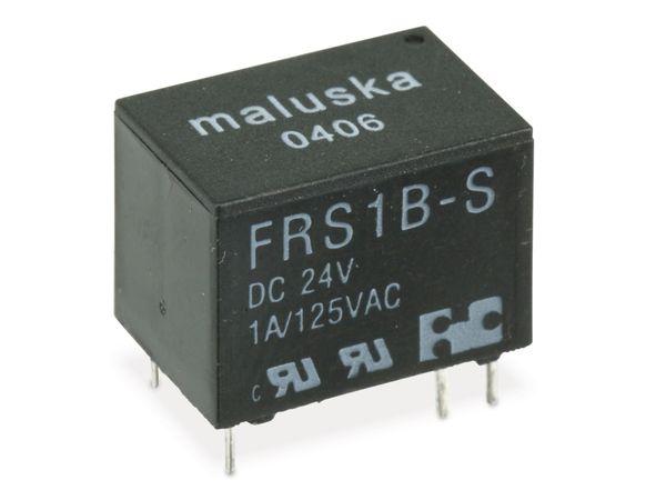 Relais MALUSKA FRS1B-S, 24 V-, 1 Wechsler