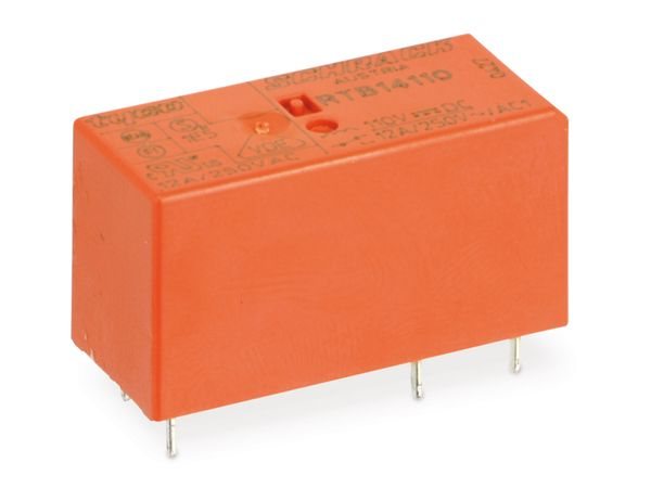 Relais SCHRACK RTB14110, 110 V-, 1 Wechsler