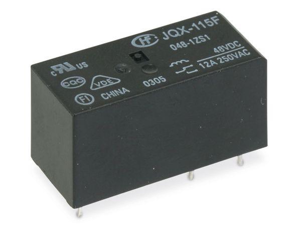 Leistungsrelais HONGFA JQX-115F/048-1ZS1, 48 V-, 1 Wechsler
