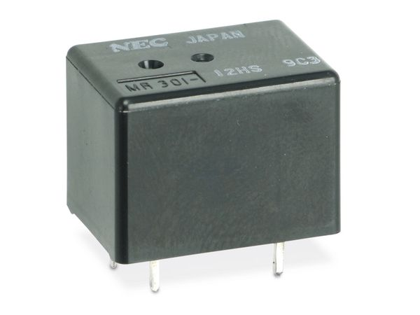 Leistungs-Relais NEC MR301-12HS, 12 V-, 1 Wechsler