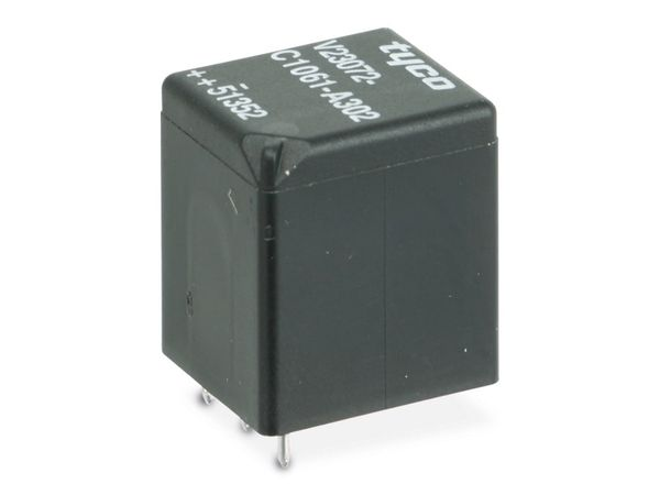 KFZ-Relais TYCO V23072-C1061-A302, 12 V-, 1 Schließer