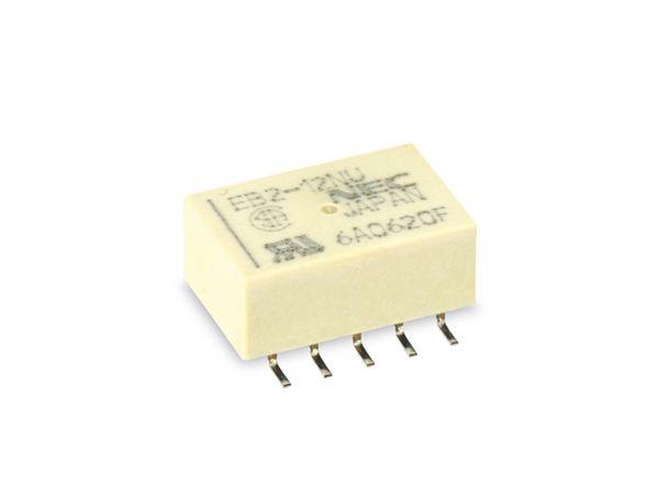 Miniatur Signal-Relais NEC EB2-12NU, 12 V-, 2 Wechsler
