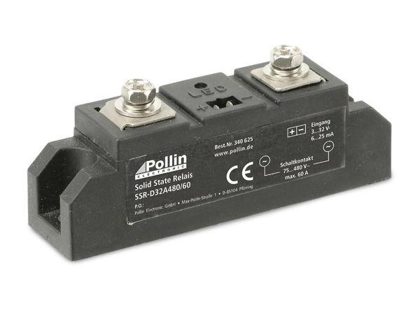 Solid State Relais SSR-D32A480/60, 3...32 V-, 60 A/480 V~
