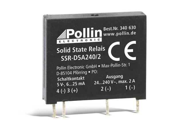 Solid State Relais SSR-D5A240/2, 5 V-, 2 A/240 V~