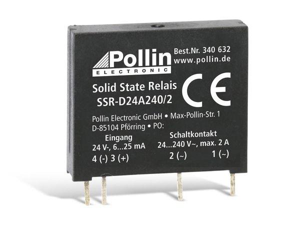 Solid State Relais SSR-D24A240/2, 24 V-, 2 A/240 V~