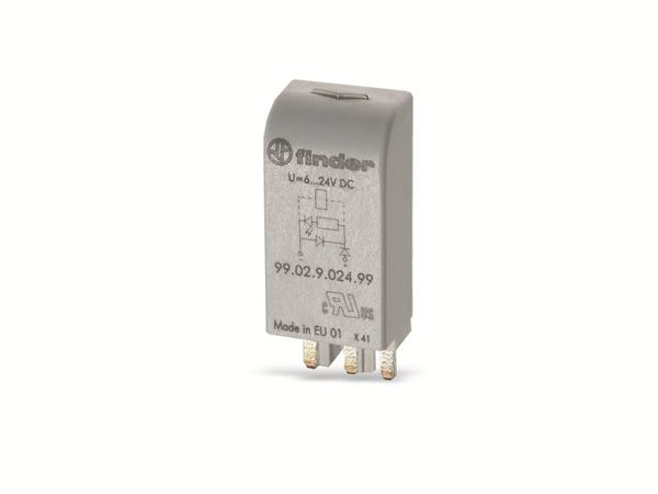 Freilaufdioden-/LED-Modul FINDER 99.02.9.024.99