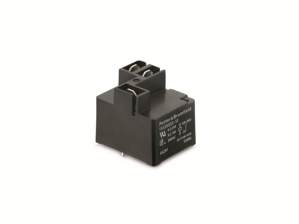 Relais POTTER&BRUMFIELD T9AS5D22-12, 12 V-, 1 Wechsler
