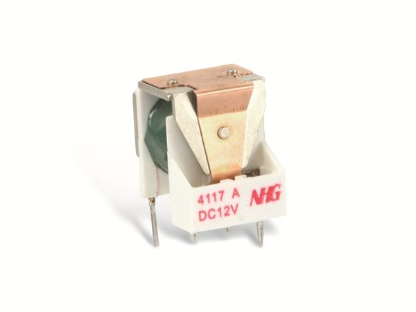KFZ-Relais NHG 4117A, 12 V-, 1 Schließer - Produktbild 2
