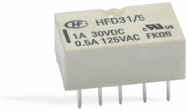 Printrelais HONGFA HFD31/024-L1, bistabil - Produktbild 1
