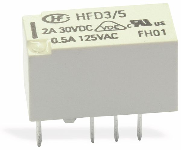 Printrelais HONGFA HFD3/005 - Produktbild 1