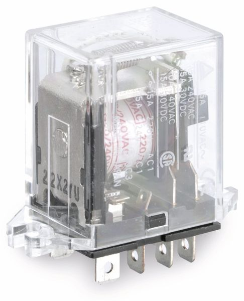 Relais OMRON LY1S, 220...240 V~, 15 A, SPDT - Produktbild 1