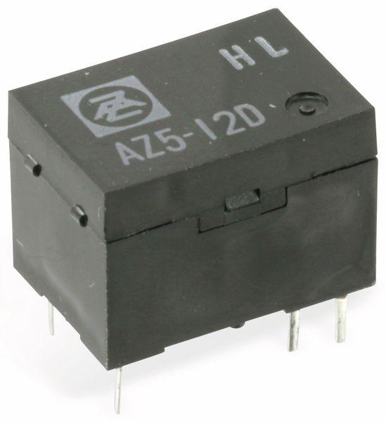 Relais ZETTLER AZ5Y-1C-12D, 12V-, 1 Wechsler
