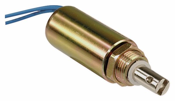 Elektromagnet, Zylindermagnet, Hubmagnet, ziehend, ITS-LZ2560Z-12