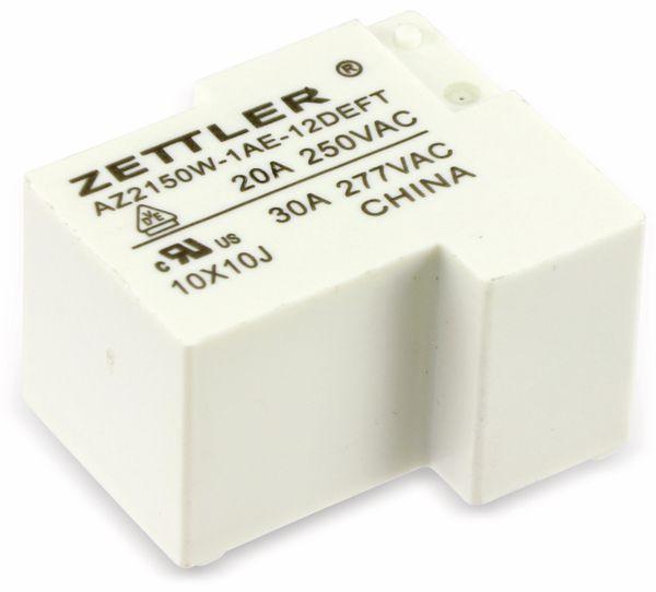 Relais Zettler, AZ2150W-1AE-12DEFT, 12 V-, 30A/250V~ - Produktbild 1
