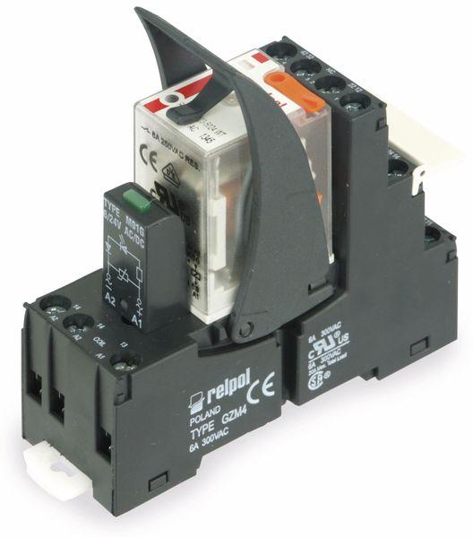 Relaisbaustein RELPOL GZM4, 12 V- - Produktbild 1
