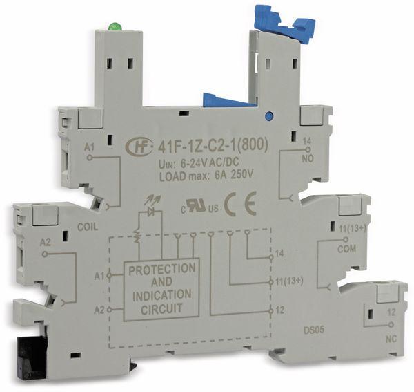 Relaisfassung HONGFA HF41-1Z-C2-1
