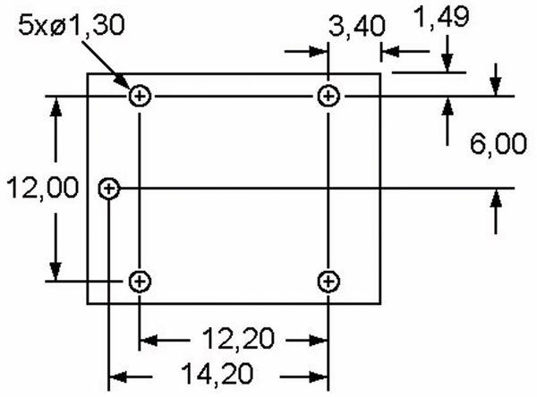 Relais ZETTLER AZ943-1CH-12DE, print, 12 V-, 10 A, 1xUM - Produktbild 4
