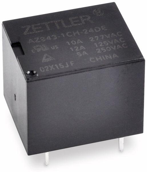 Relais ZETTLER AZ943-1CH-24DE, print, 24 V-, 10 A, 1xUM - Produktbild 1