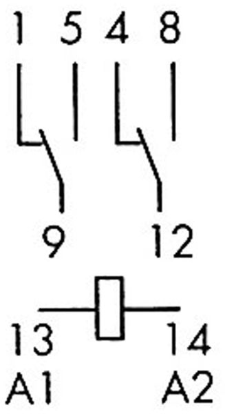 Relais Finder F 55.32, 230V~, 2xUM, 10A - Produktbild 2
