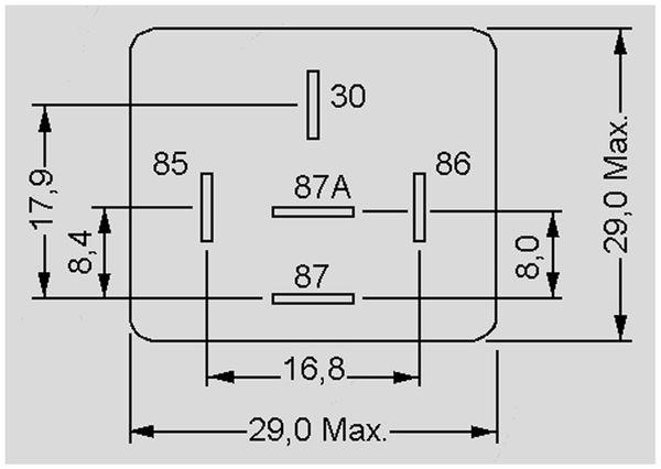 KFZ Relais 12 V-, 50 A, 1x UM, Steckanschluß - Produktbild 3