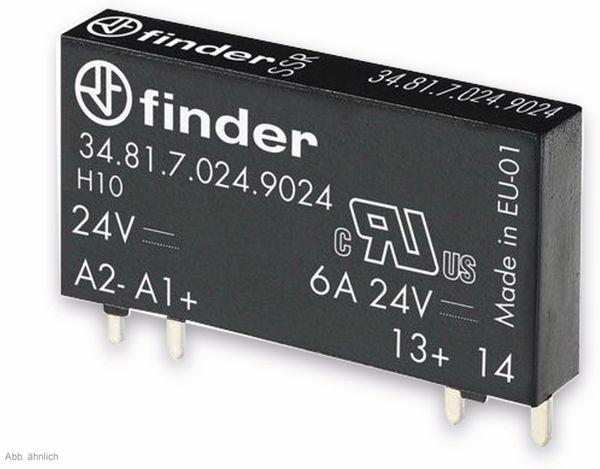 FINDER SSR-Relais 34.81, 5 V- ,1xEIN, 6A/24 V-