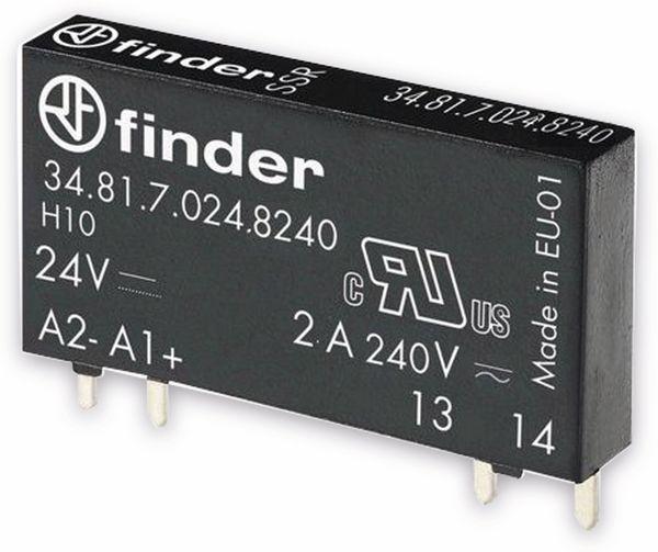 FINDER SSR-Relais 34.81,24 V-, 1xEIN, 2 A/230 V~