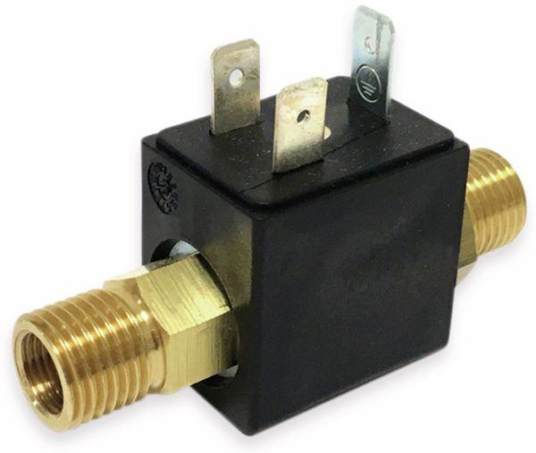 2/2-Wege Magnetventil mit koaxialer Durchströmung BMV60404M, Messing, FKM, 12V-