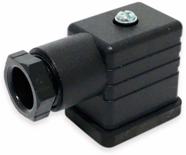 Stecker für Magnetventile, Form B, PG9