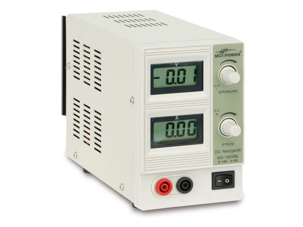 Regelbares Netzgerät NG-1620BL - Produktbild 2