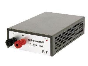 Schaltnetzteil IVT, 12...14 V-/10 A