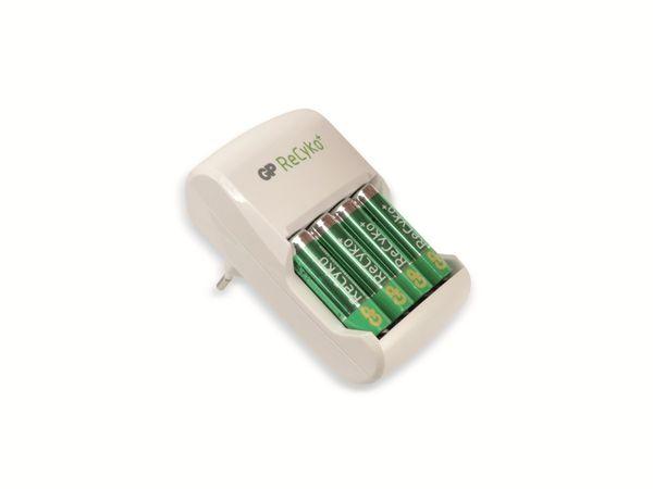 Ladegerät GP GPAR01GS mit 4 ReCyko-Akkus - Produktbild 1