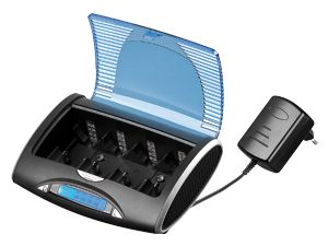 Tischladegerät Tecxus Familiy Charger LCD + USB