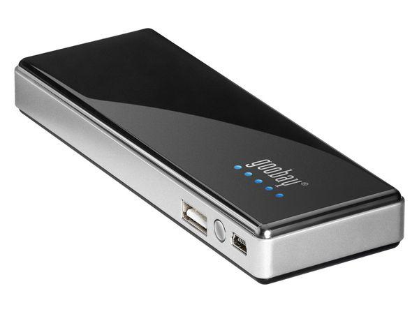 USB-Powerbank GOOBAY, LiPo, 5 V-/5,2 Ah - Produktbild 1