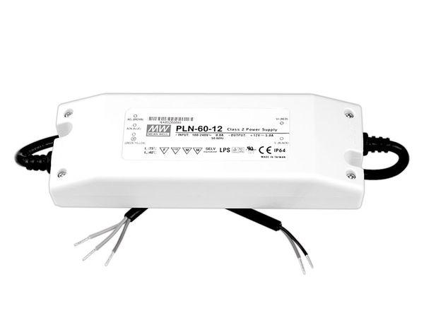 LED-Schaltnetzteil MEANWELL PLN-60-12, 12 V-/60 W