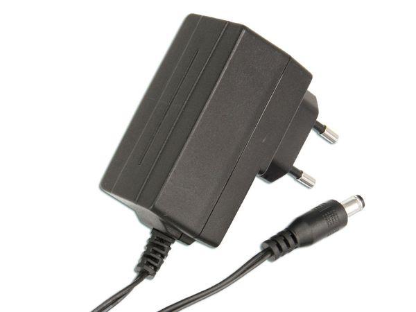 Stecker-Schaltnetzteil MV12-Y150080-C5, 15 V-/0,8 A