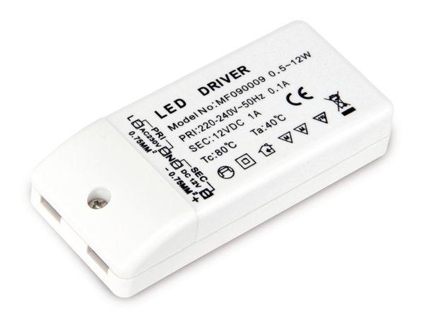 LED-Schaltnetzteil, 12 V-, 12 W