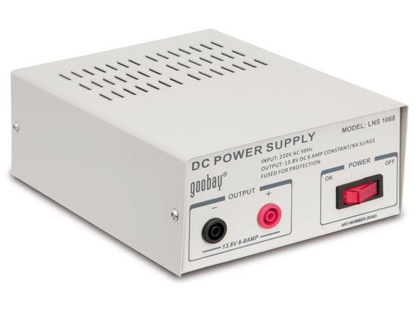 Schaltnetzteil LNS 1068, 13,8 V-/6 A