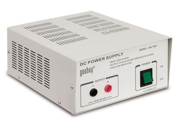Schaltnetzteil LNS 1020, 13,8 V-/20 A