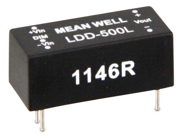 LED-Konstantstromquelle MEANWELL LDD-500L, 500 mA