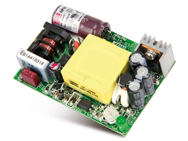 Schaltnetzteil MEANWELL NFM-15-5, 5 V-/3 A - Produktbild 2