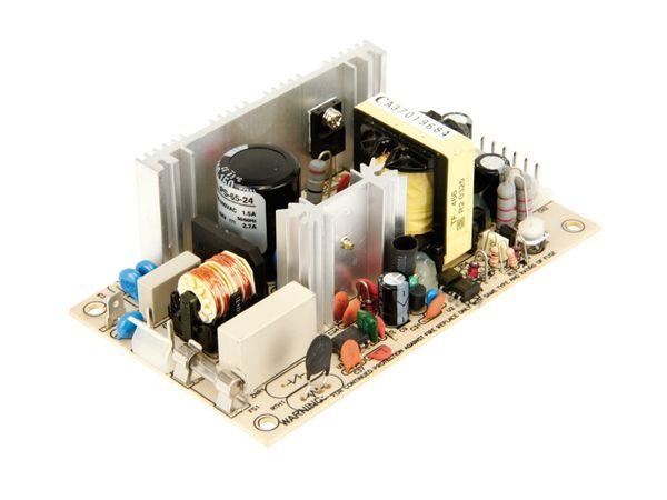 Schaltnetzteil MEANWELL PS-65-24, 24 V-/2,7 A - Produktbild 1