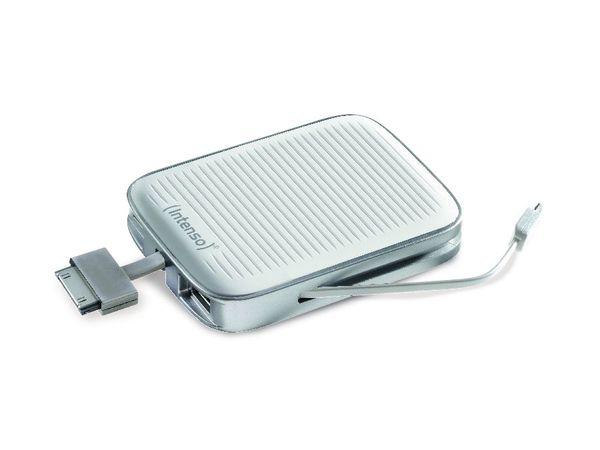 USB-Powerbank INTENSO Moby Pack 3000, 5 V-/3 Ah, weiß