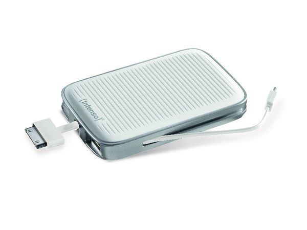 USB-Powerbank INTENSO Moby Pack 5200, weiß