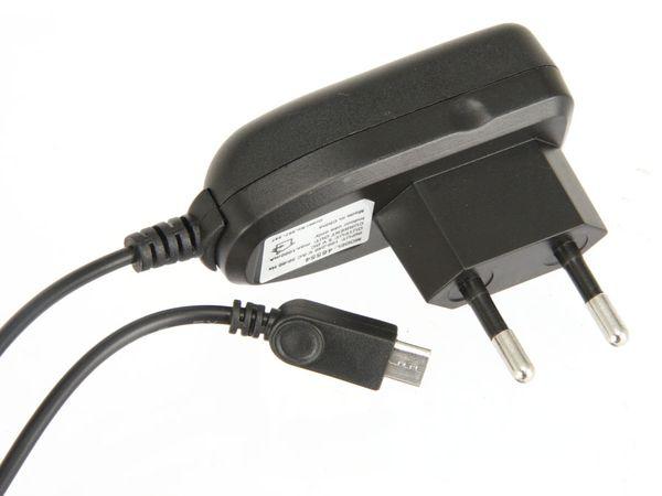 Netzteil mit Micro-USB Anschlusskabel, 5 V-/1 A